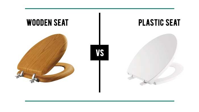 Wood Vs. Plastic Toilet Seat